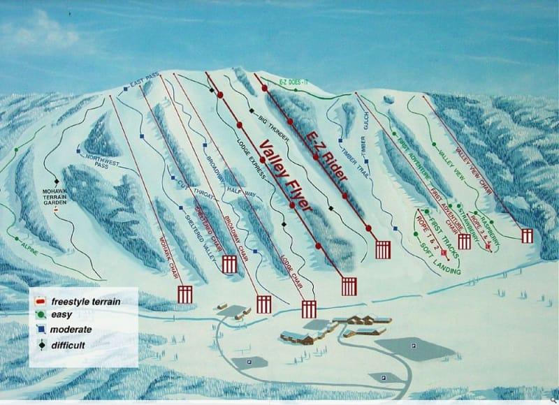 Worksheet. Alpine Valley Resort Trail Map  Liftopia