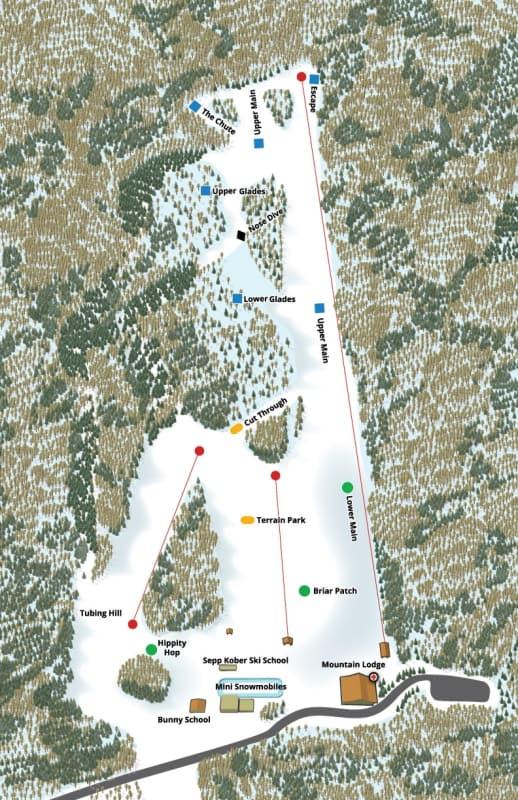 Worksheet. The Omni Homestead Ski Resort Trail Map  Liftopia