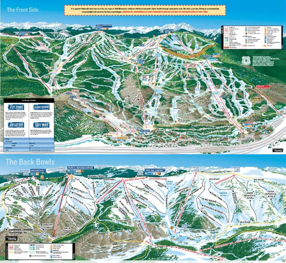 vail trail map. vail trail map  liftopia