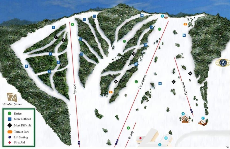 Worksheet. Pine Mountain Trail Map  Liftopia