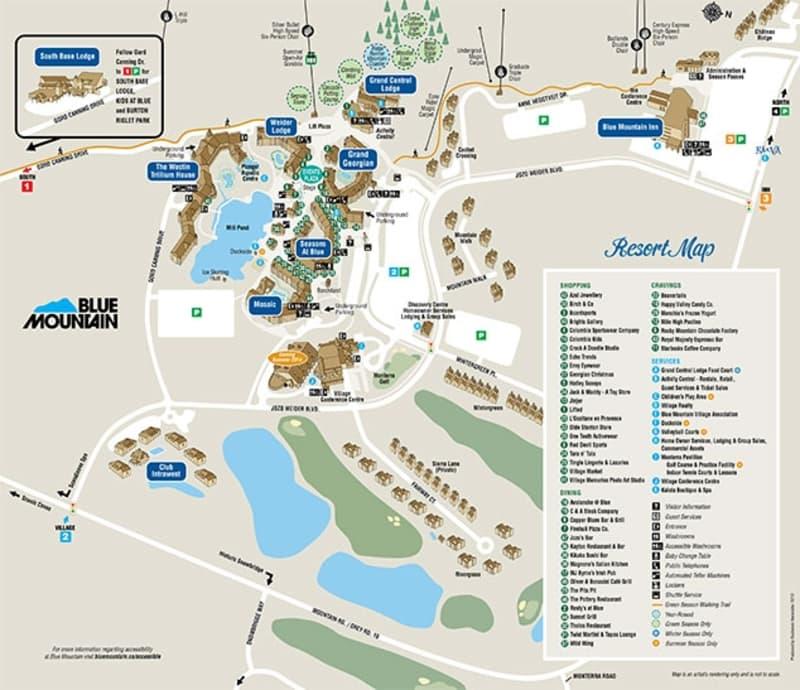 Blue Mountain Resort Map Blue Mountain Ontario Discount Lift Tickets & Passes | Liftopia Blue Mountain Resort Map