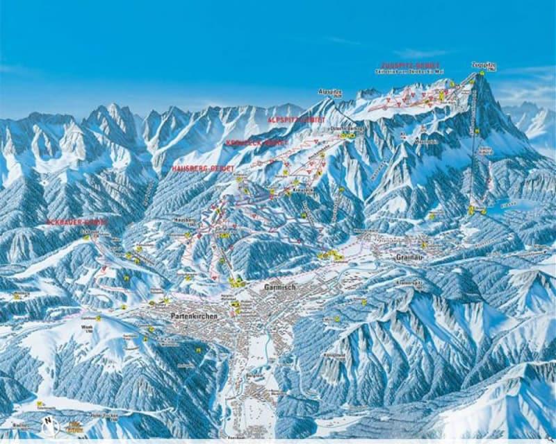 Garmisch-Partenkirchen Trail Map | Liftopia on bansko ski map, madonna di campiglio ski map, tamarack resort ski map, courchevel ski map, germany ski map, garmisch-partenkirchen ski poster, st. moritz ski map, deer valley ski map, cortina d'ampezzo ski map, buck hill ski map, chamonix ski map, klosters ski map, kitzbuhel ski map, grenoble ski map, schladming ski map, zermatt ski map, europe ski map, garmisch-partenkirchen ski jump,