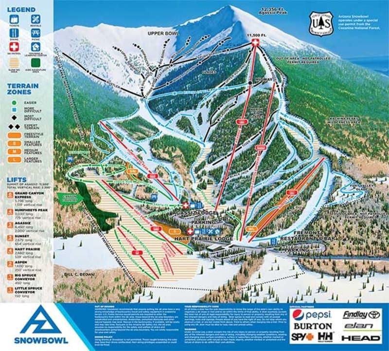 ddd818489ac0fe6e8fb6c2539619d27f Snowbowl Map on flagstaff ski bowl map, lost trail map, whitefish mountain resort map, flagstaff az map, bridger bowl map, the arizona trail map,