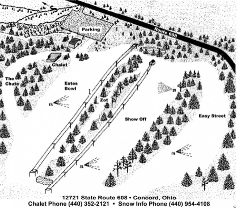 Big Creek Trail Map   Liftopia