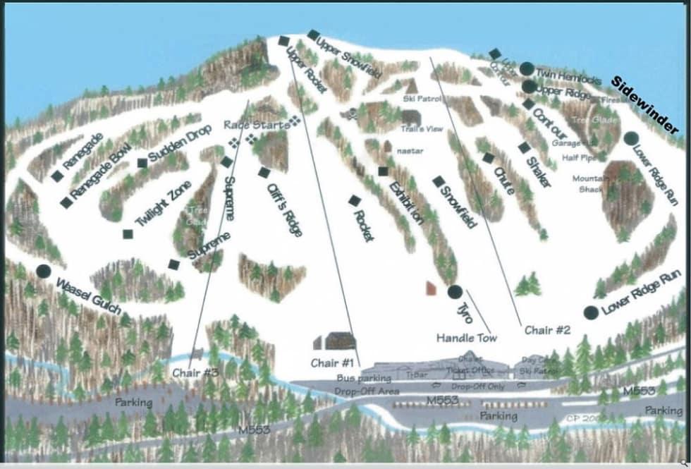 Marquette Trail Map Liftopia