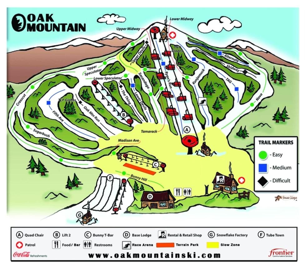 Oak Mountain Trail Map | Liftopia on mountain ny map, ski slopes in ny, bike ny map, skiing ny state map, ski resorts in central ny, summer ny map, hunter mt ny map, city ny map, camp ny map, snow ny map, bergen ny map, cypress hill ny map, peak n peak map, ski border, ski resort ny state, hunt ny map, peak peak resort map, cross country skiing places in ny map,
