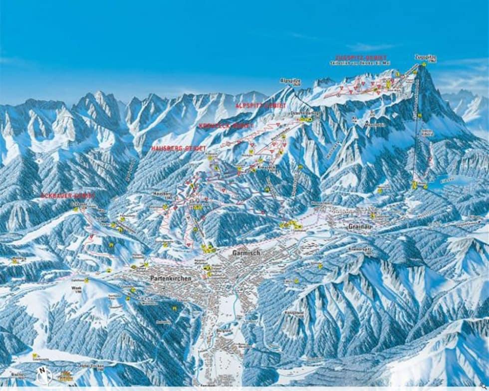 Garmisch Partenkirchen Trail Map Liftopia