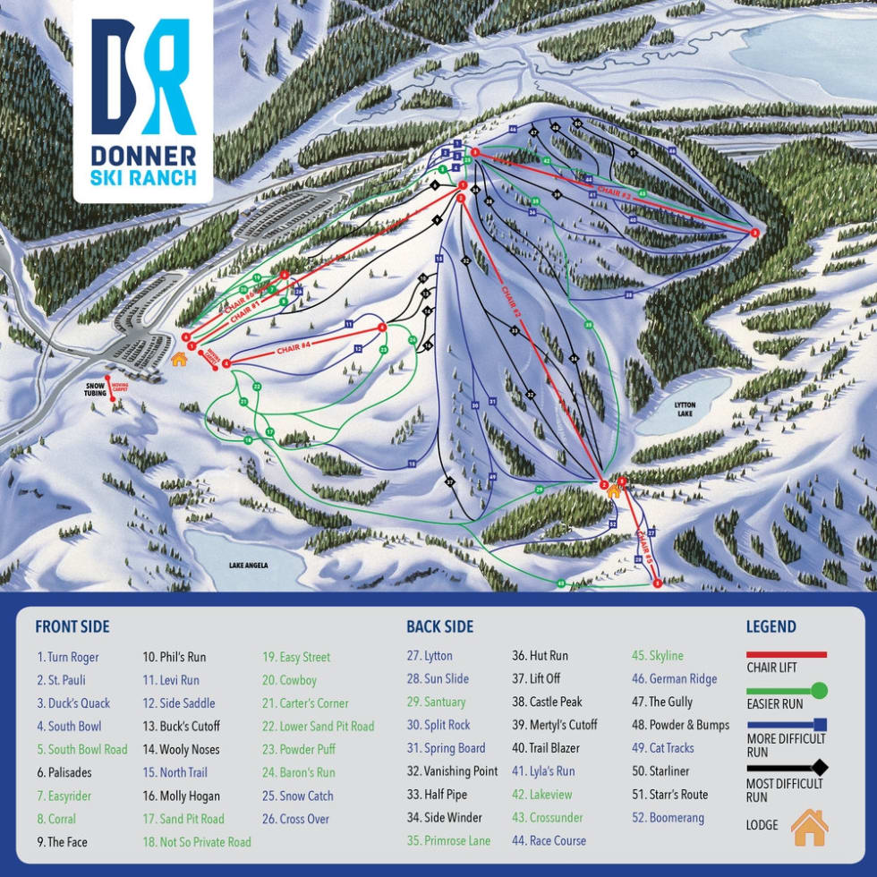 Donner Ski Ranch Trail Map | Liftopia on cowiche canyon map, snow california map, snow united states map, snow mountain resort map, cross country ski park city map, big bend ranch state park map, contact us map,