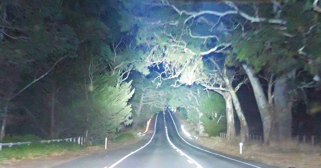 Genesis Professional Edition LED Driving Lights Beam Pattern