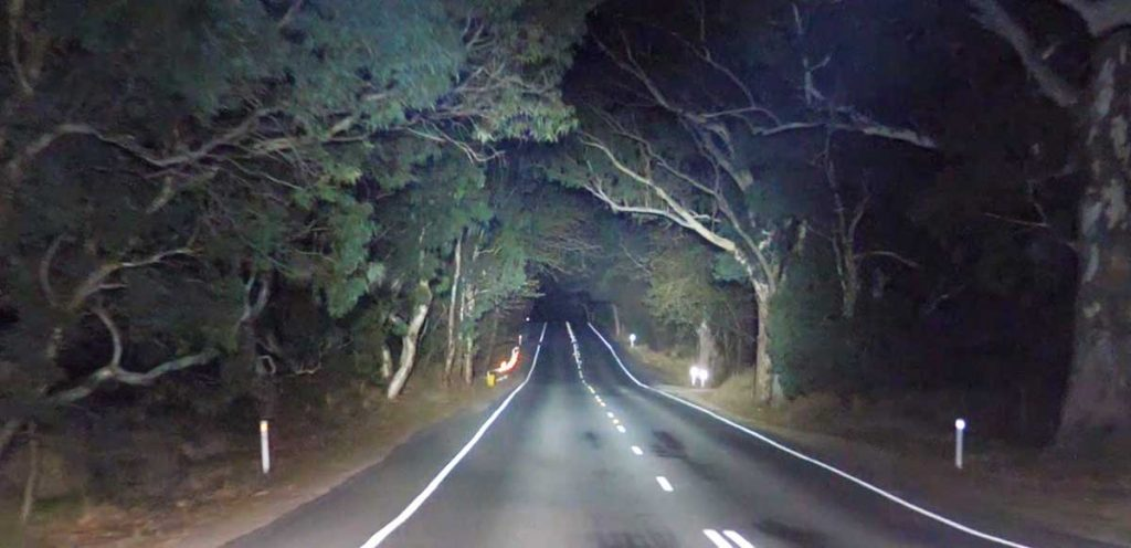 Venom Professional Edition LED Driving Lights Beam Pattern