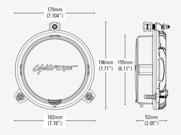 X-Grille Venom Inserts Diagram