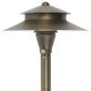 Path & Area Light for Low Voltage Landscape Lighting - Brass (Polished Finish)
