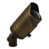 Adjustable Focus Spotlight for Low Voltage Landscape Lighting - Brass (Polished Finish)