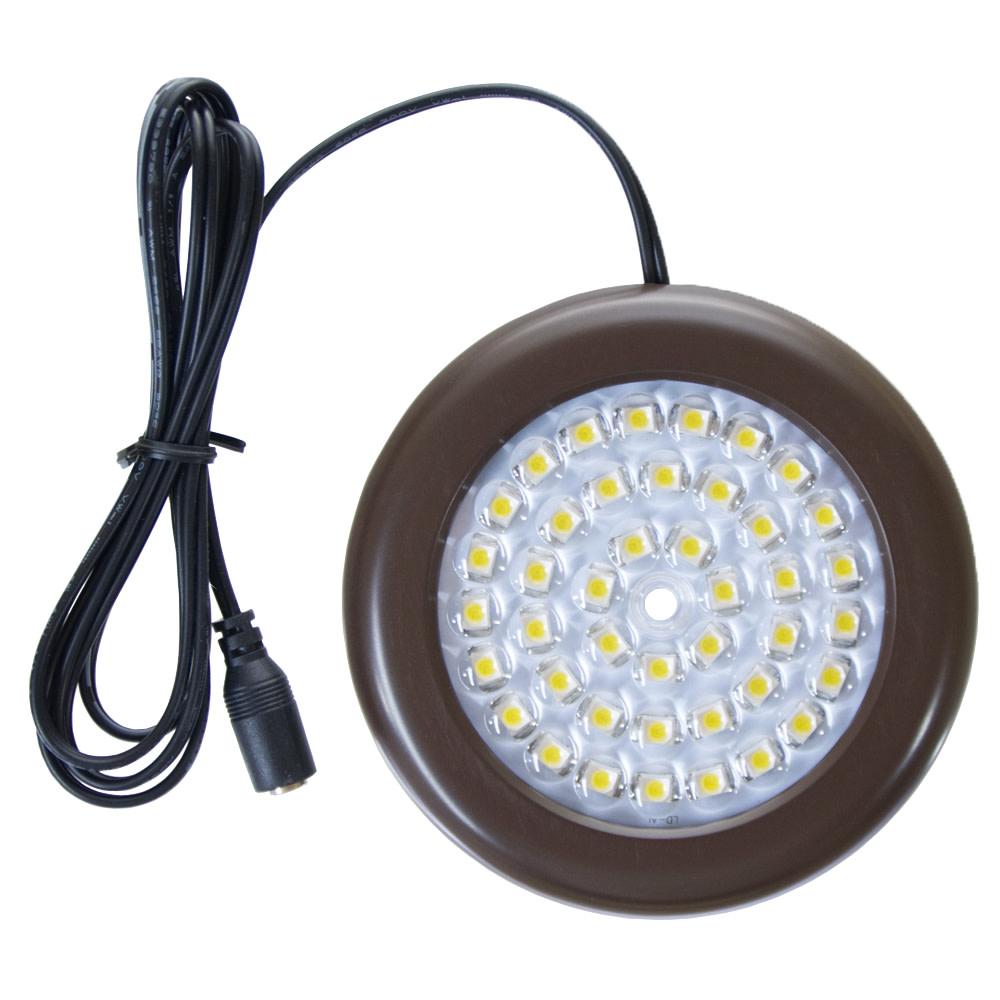 35 inch warm white led puck lights premium kit 3 pack