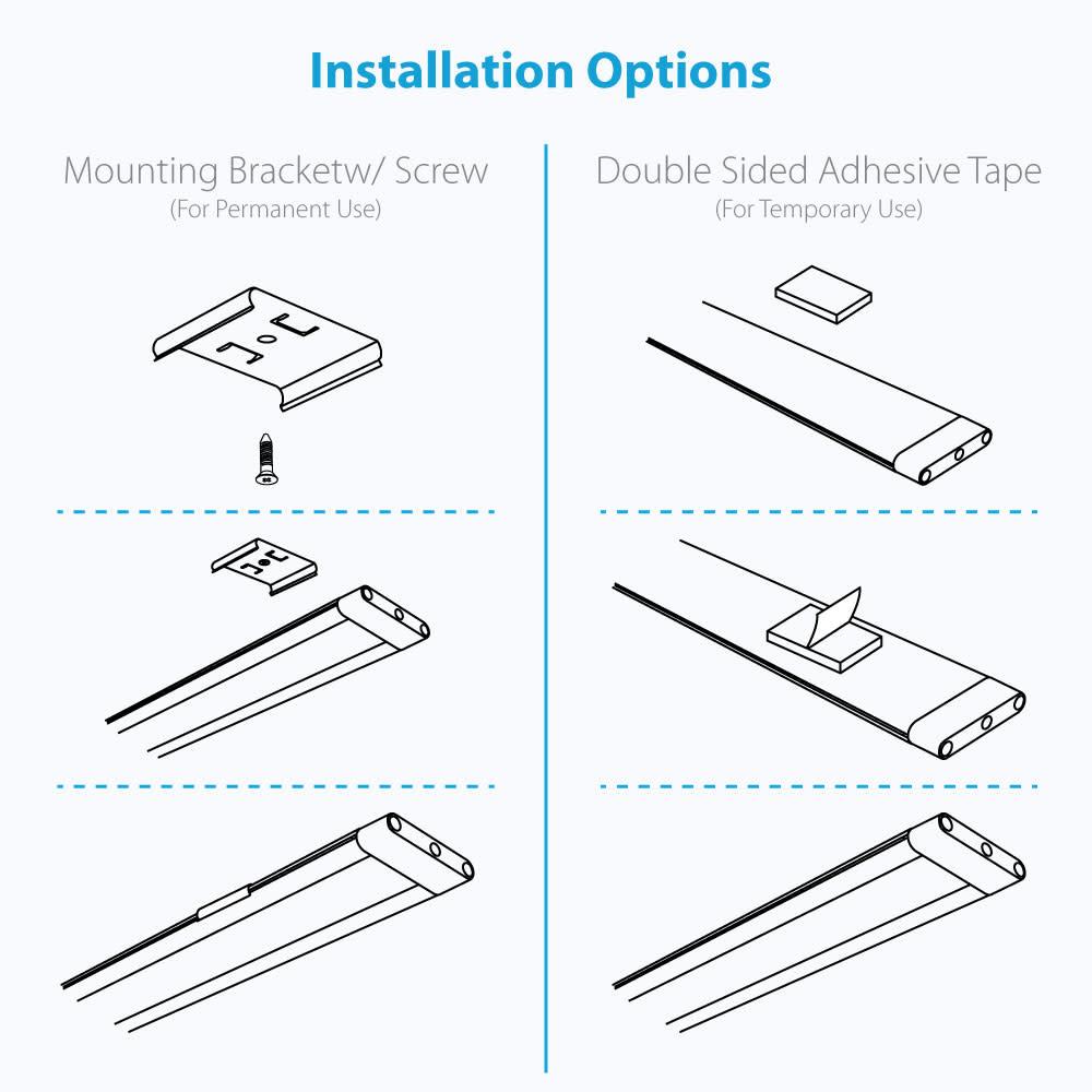 professional led under cabinet lighting kit
