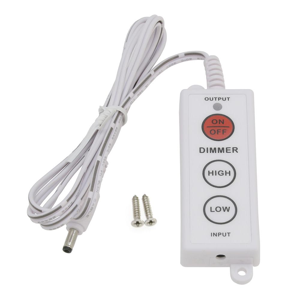 Dimmer Switch For Modular Led Under Cabinet Lighting White