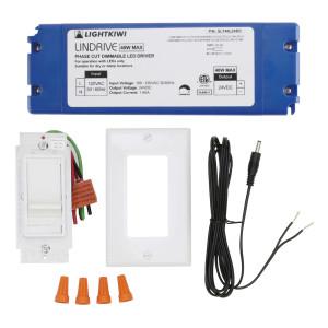 Hardwire Kit, Direct Wire for LED Under Cabinet Lighting - 40 Watt