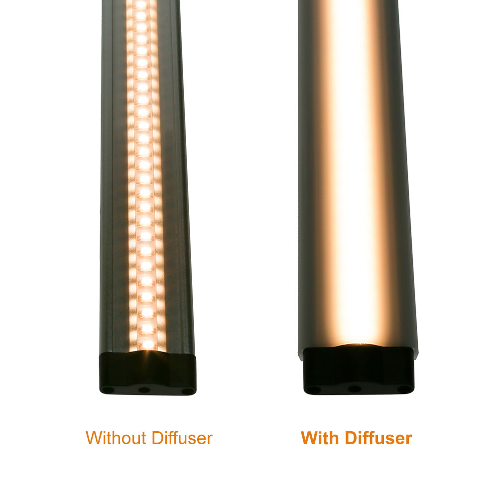 12 Inch Diffuser for Modular LED Under Cabinet Lighting