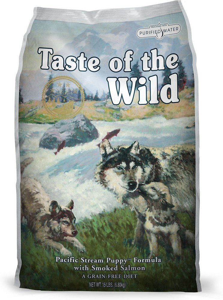 Taste of the Wild Pacific Stream Puppy Formula Dry Dog Food 15lbs