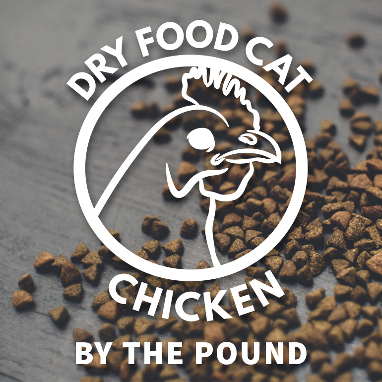 CAT Naked Chicken Dry Food By the Pound Grain-Free
