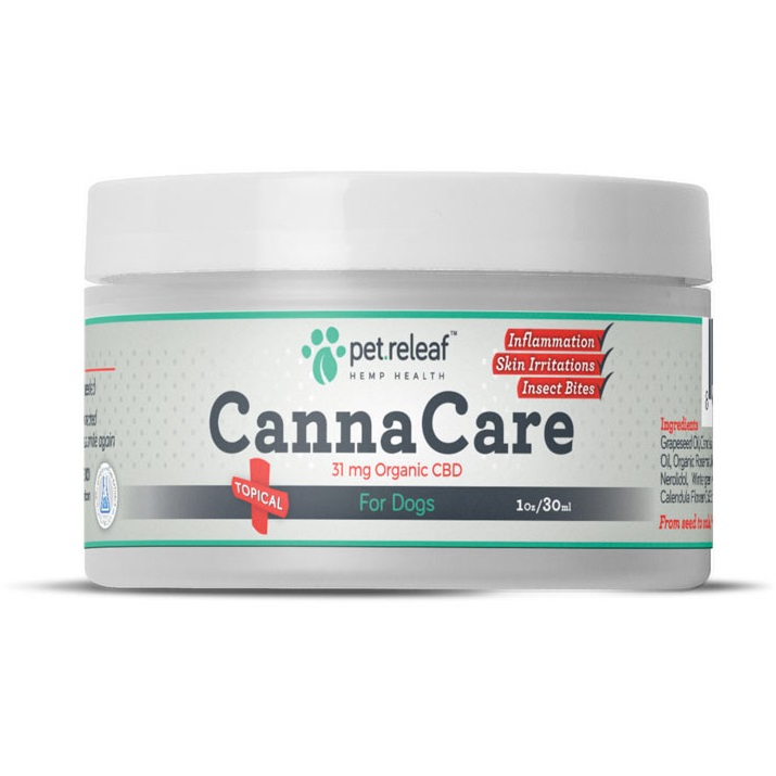 Pet Releaf 'Canna Care' CBD topical for Dogs1z