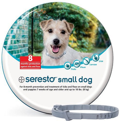 Seresto Flea & Tick Collar for Small Dogs & Puppies (up to 18 pounds)