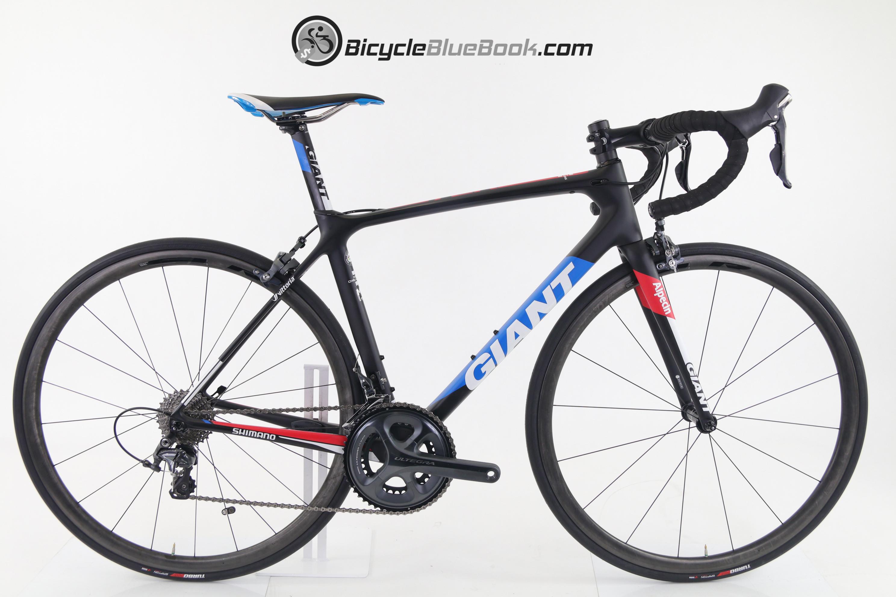 Giant Tcr Advanced Pro Team For Sale 2281 Slr 3 M 2014 Wht Blue Bike Details Marketplace
