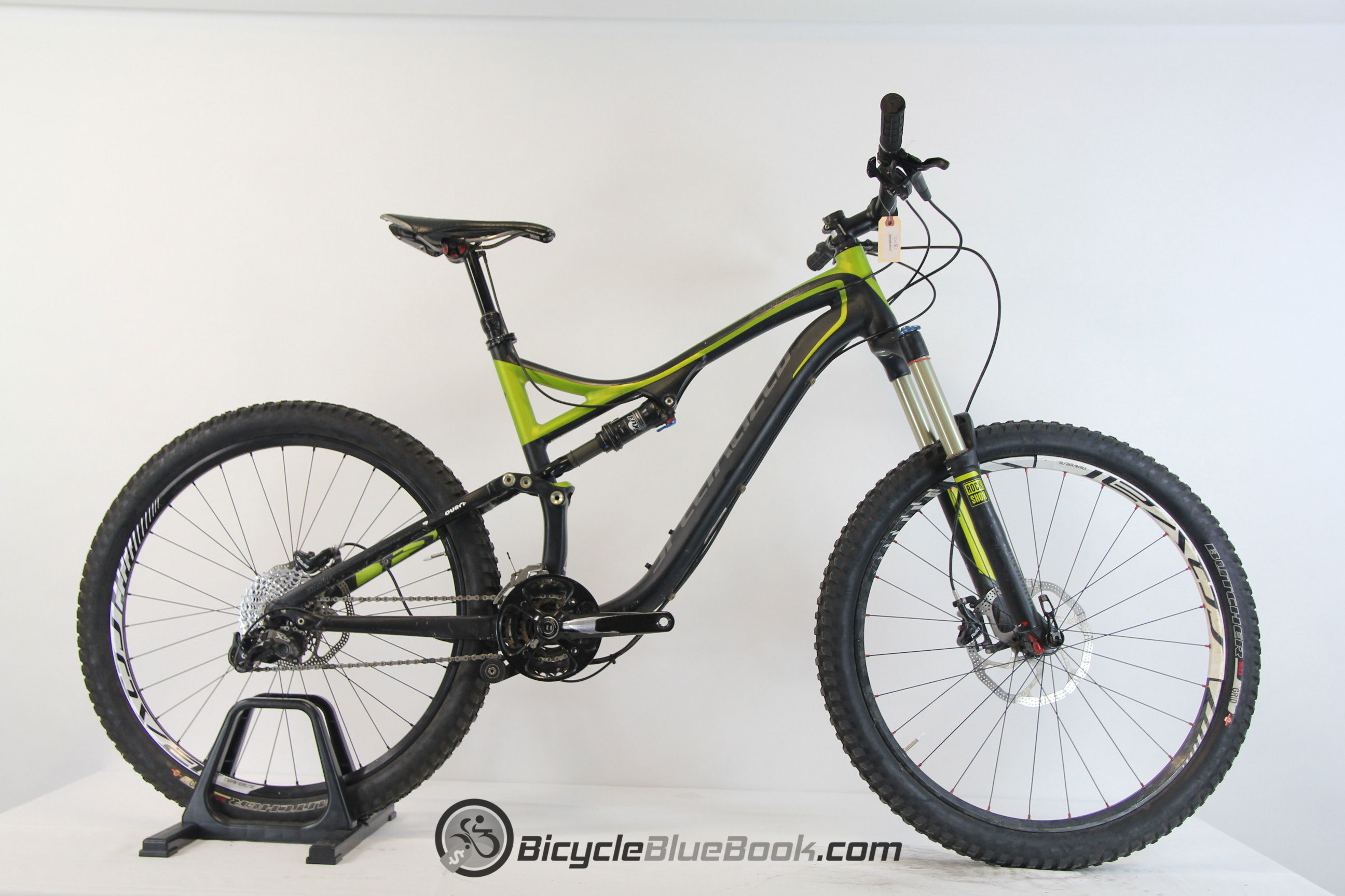 specialized Stumpjumper FSR Comp EVO 29er For Sale - 1014 ...