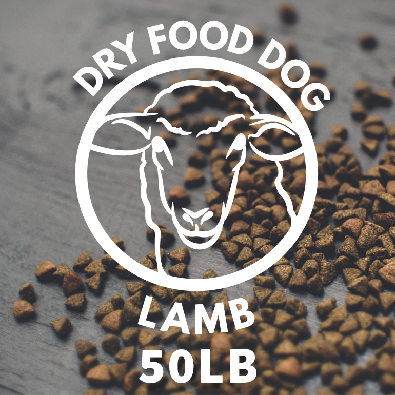 Naked Lamb and Brown Rice Dry Dog Food 50lbs