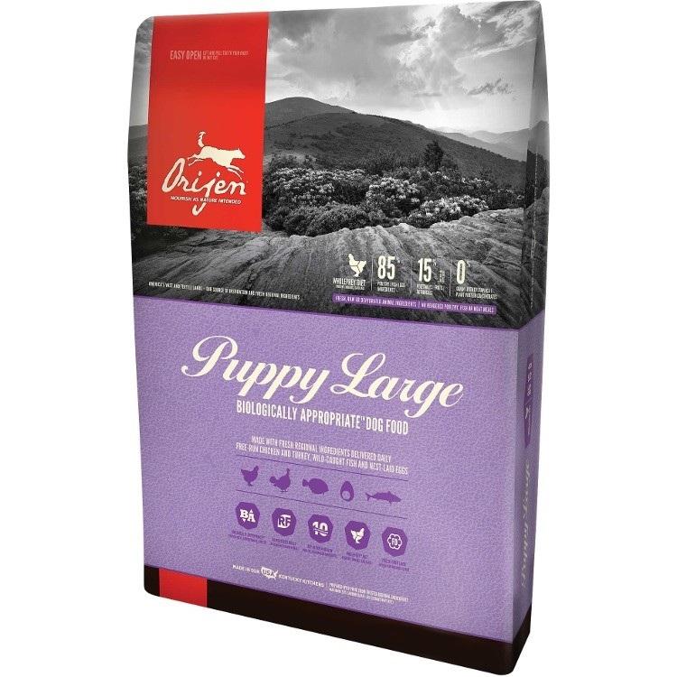 Orijen Puppy Large Breed Grain-Free Dry Dog Food 25lbs