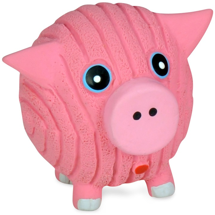 HuggleHounds Ruff-Tex Hamlet The Pig Small Dog Toy