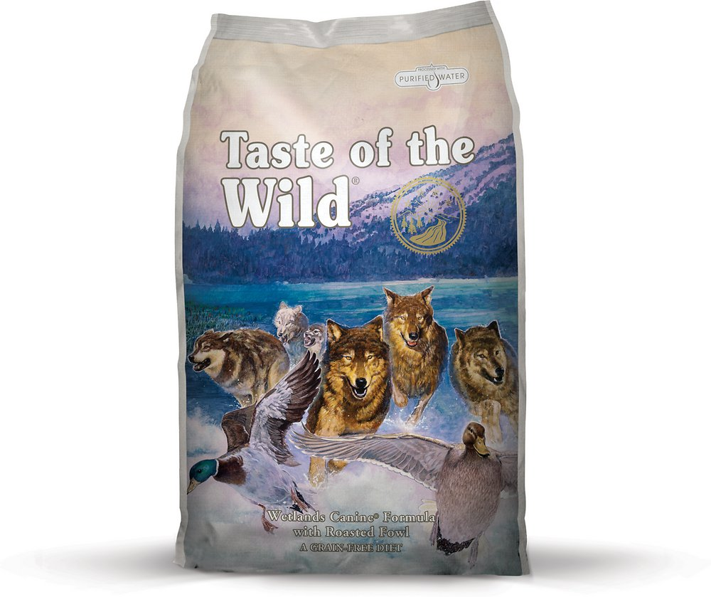 Taste of the Wild Wetlands Dry Dog Food 5lbs