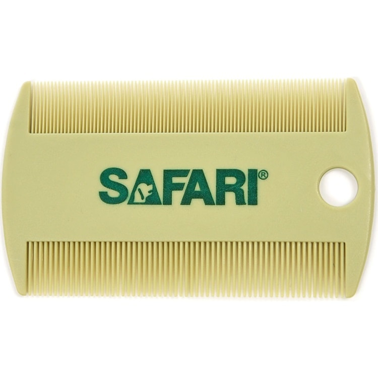 Safari Double-Sided Flea Comb for Dogs & Cats