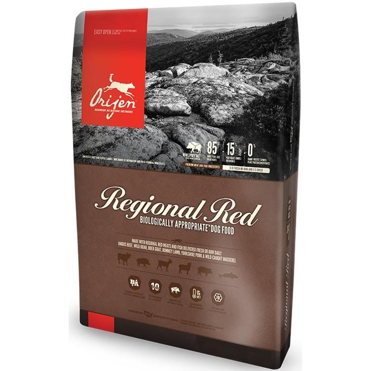 Orijen Regional Red Grain-Free Dry Dog Food 4.5lbs