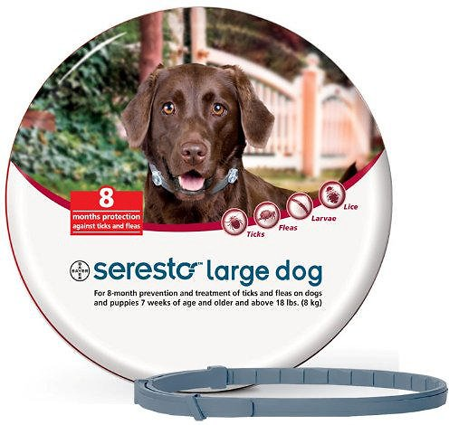 Seresto Flea & Tick Collar for Large Dogs & Puppies (over 18 pounds)