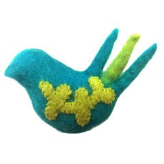 RC Pet Toy Woodland Bird Cat Toy - Teal