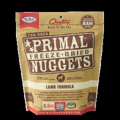 Primal Freeze-Dried Raw Dog Food - Lamb