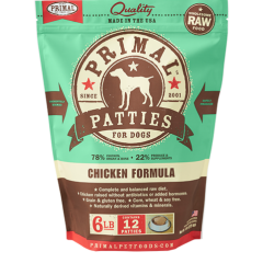 Primal Raw Dog Food - Canine Chicken