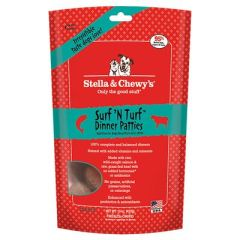 Stella & Chewy's Freeze-Dried Raw Dog Food- Surf 'N Turf Dinner