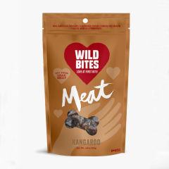 Wild Bites Freeze-dried Kangaroo Dog Treats 50g