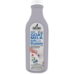 Happy Days - Frozen Raw Goat Milk Kefir with Blueberries 975ml