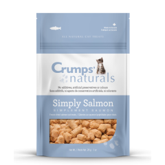 Crumps' Naturals Cat Treats - Simply Salmon Freeze-dried Salmon  28 g