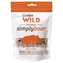 Sojos Simply Wild Boar Freeze-dried Dog Treats 2.5 oz