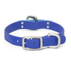 West Paw Jaunts Dog Collar Midnight Blue/Aqua
