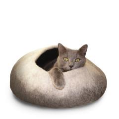 Dharma Dog Karma Cat Wool Felt Ombre Cave