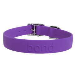 Bond Waterproof  Dog Collars - Grape