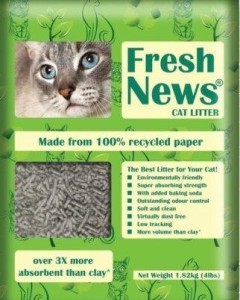 Fresh News- Paper Cat Litter