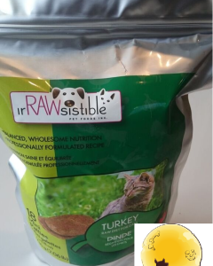 irRAWsistible (Cat) Raw - Naturally-Raised Turkey 1.8 oz (18 Minis)