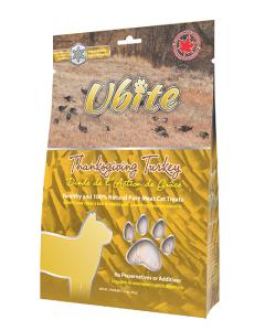 Ubite - Treat (Cat) - Freeze-dried Turkey 80 g