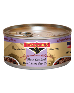 Evanger's - (Cat) Canned - Slow Cooked Beef Stew 5 oz